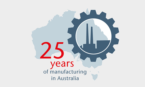 25 Years Of Manufacturing